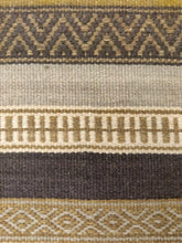 Load image into Gallery viewer, The Rugs Cafe Dhurries 4.4x7.6 / Multi Contemporary Linear Stripes Design Quality Dhurrie Rug - Handwoven Rug