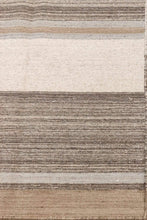 Load image into Gallery viewer, The Rugs Cafe Dhurries 5.5x7.7 / Multi Contemporary Linear Design Quality Dhurrie Rug [Handmade]