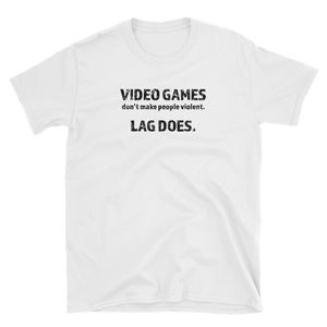 Video Games don't make people violent... Lag Does
