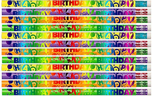 D1352 Birthday Celebration - 36 Qty Package - Happy Birthday Pencils - Express Pencils