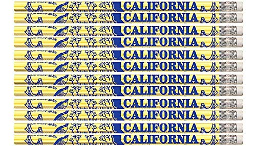D1503 California - 36 Qty Package - California State Quick Facts Pencils - Express Pencils