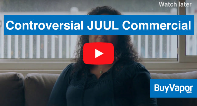 Controversial JUUL commercial