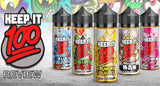 Keep It 100 Vape Juice Review | All 9 Flavors