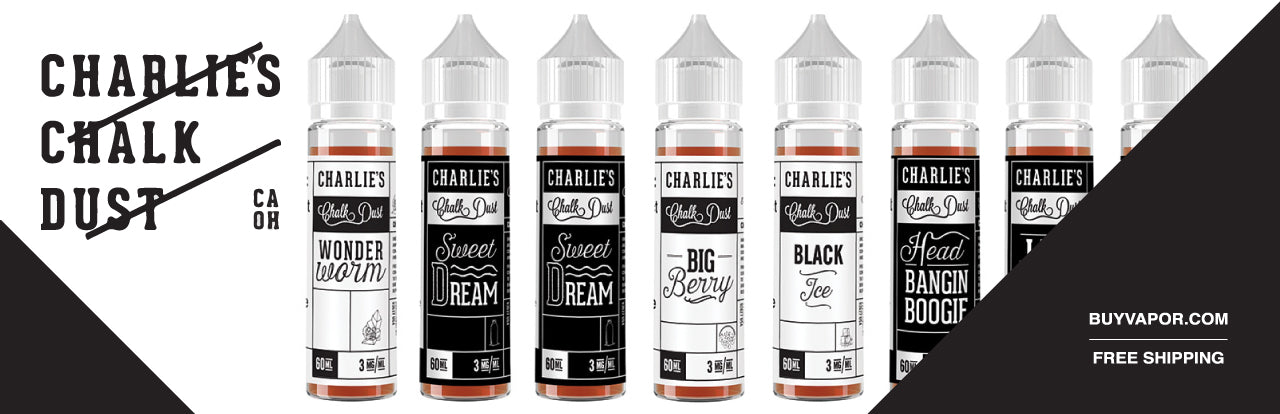 Shop online Charlie's Chalk Dust ejuice Free shipping