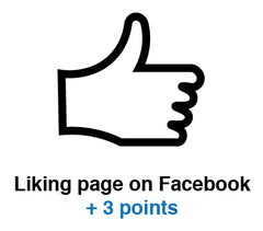 Like on Facebook Icon