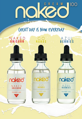 Naked 100 Cream Flavors 60mL