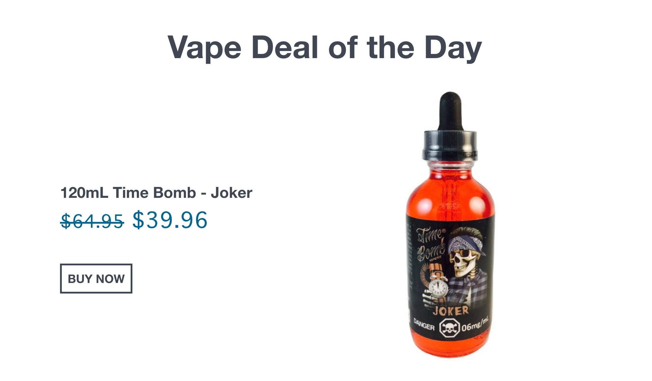 Fuse Vape Deal of the Day