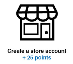 VaporRewards Create Account 25 Points