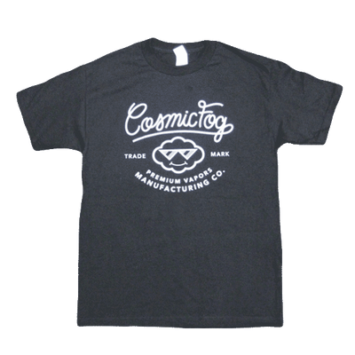 Cosmic Fog - Label T-shirt - black