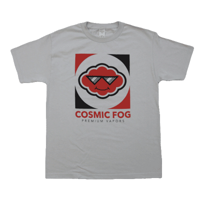 Cosmic Fog - Logo T-shirt - light gray