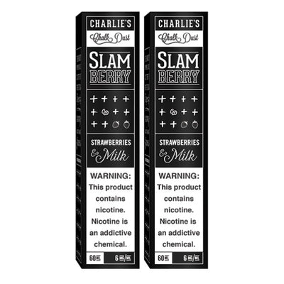 120mL Charlies Chalk Dust - Slam Berry