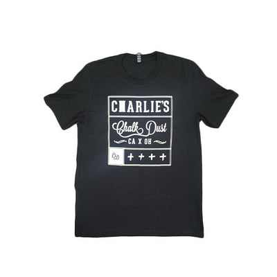 Charlie's Chalk Dust - CD T-shirt - black - Front