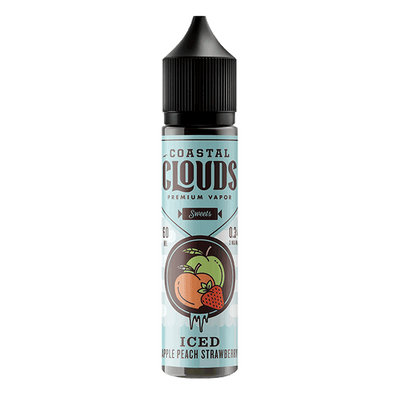 60mL - Coastal Clouds - Iced Apple Peach Strawberry