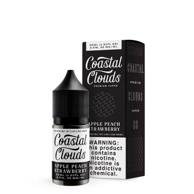 30mL - Coastal Clouds - Apple Peach Strawberry  Salts