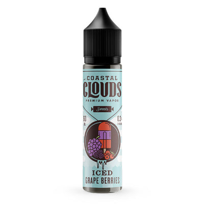 60mL - Coastal Clouds - Grape Berries Iced