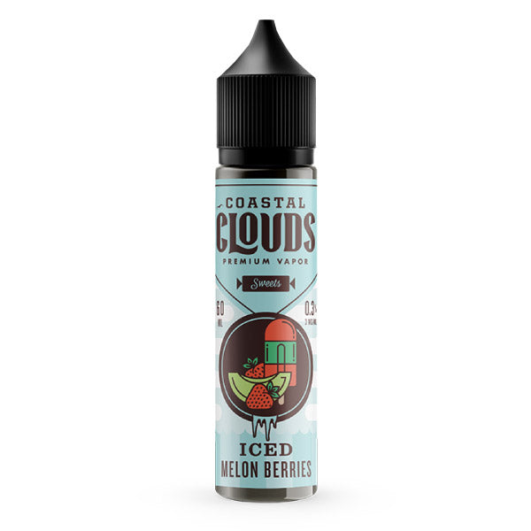 60mL - Coastal Clouds - Melon Berries Iced