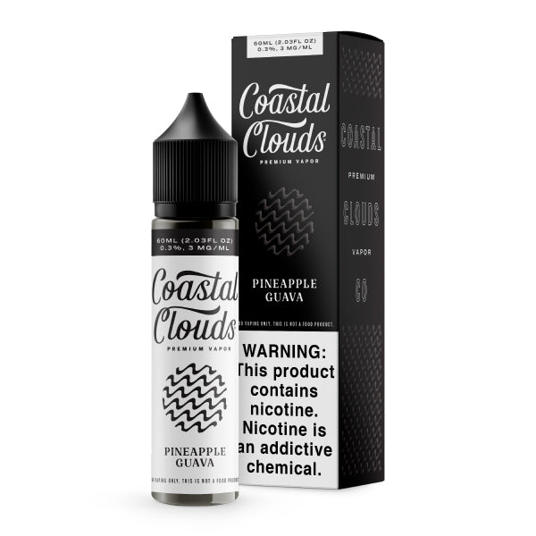 60mL - Coastal Clouds - Pineapple Guava (Guava Punch)