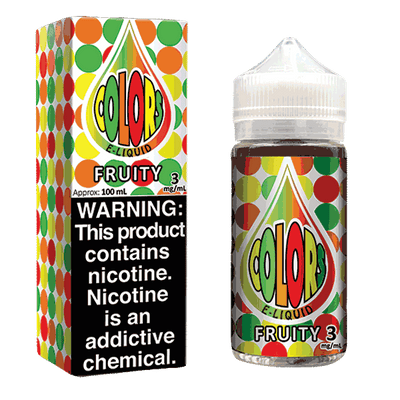 100mL Color E-liquid - Fruity