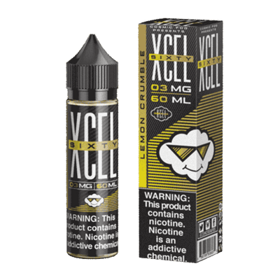 60mL - Xcel Sixty - Lemon Crumble