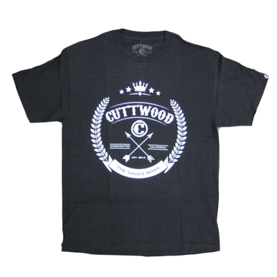 Cuttwood - Crown T-shirt - black