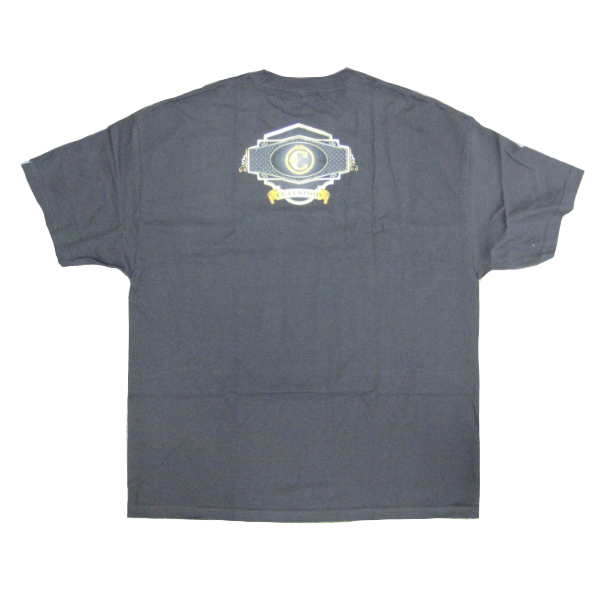 Cuttwood - Label T-shirt - black/gold