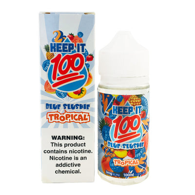 100mL - Keep it 100 - Blue Slushie Tropical