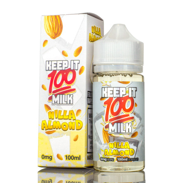 100mL - Keep it 100 - Nilla Almond Milk