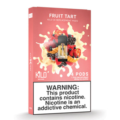 Kilo 1k Pods - Fruit Tart - 1.5ml Pods 4pk