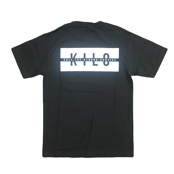 Kilo - Strong T-shirt - black - Back