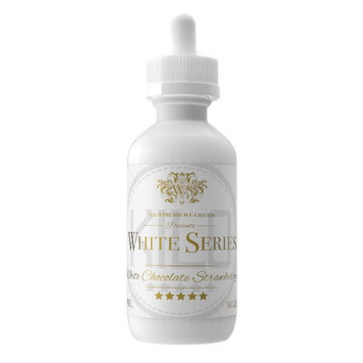 60mL - Kilo White Series - White Chocolate Strawberry
