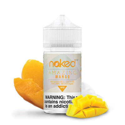 60mL Naked 100 - Amazing Mango