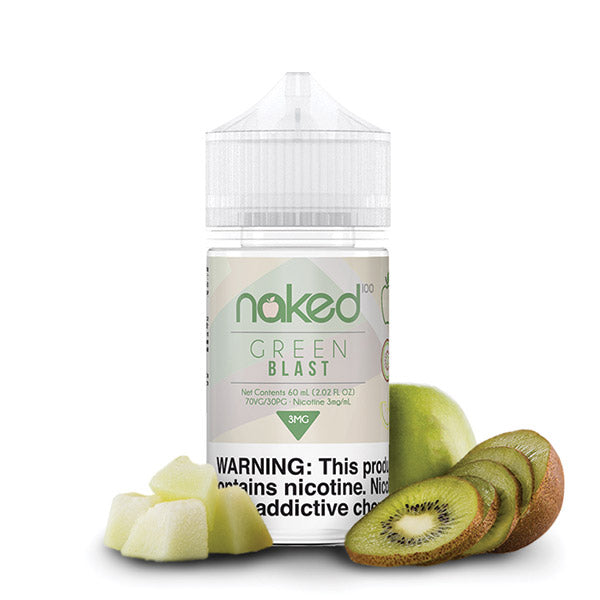 60mL Naked 100 - Green Blast