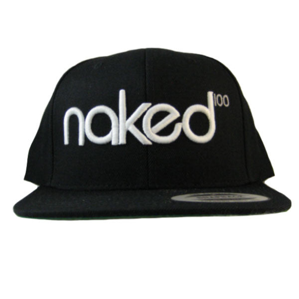 Naked 100 - Label Snapback - Black