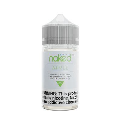 60mL Naked 100 - Menthol - Apple
