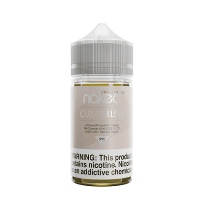 60mL Naked 100 - Tobacco - Cuban Blend