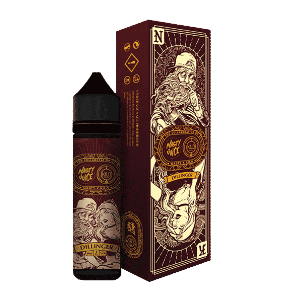 60mL - Nasty Juice & Kilo - Dillinger