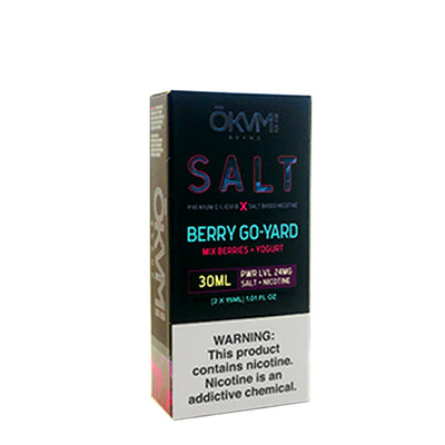 30mL - 2x15mL - Okvmi Salts - Berry Go-Yard