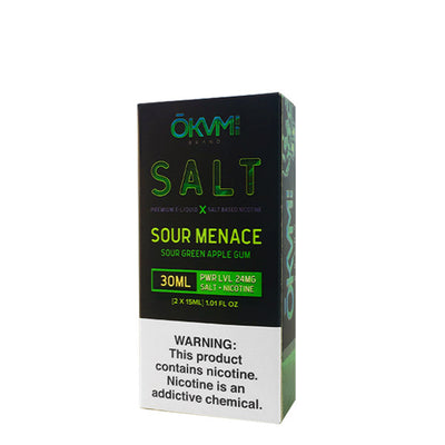 30mL - 2x15mL - Okvmi Salts - Sour Menace