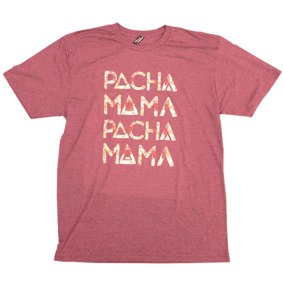 Pachamama - Label T-shirt - heather red