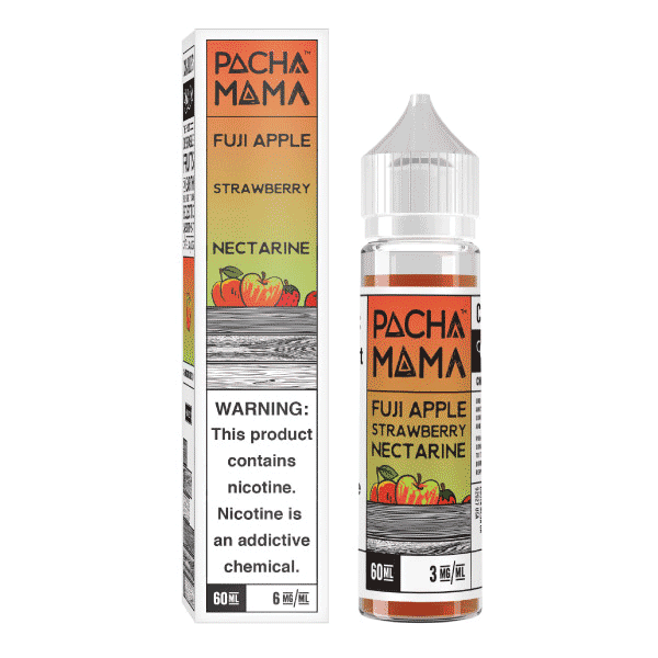 60mL Pacha Mama - Fuji Apple Strawberry Nectarine
