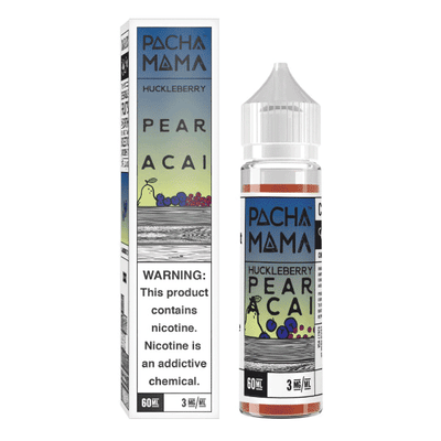 60mL Pacha Mama - Huckleberry Pear Acai