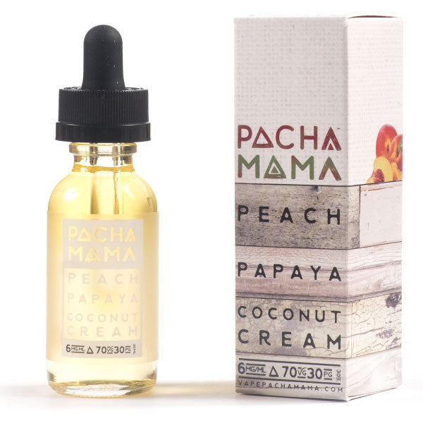 30mL Pacha Mama - Peach Papaya Coconut Cream