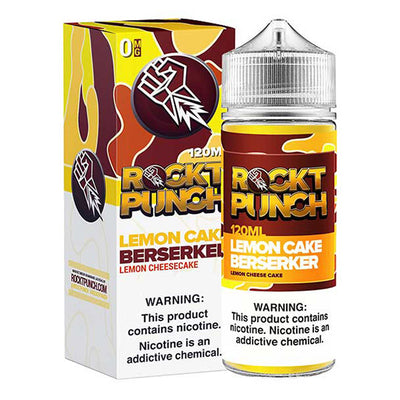 120mL - Okvmi - Rockt Punch Lemon Cake Berserker