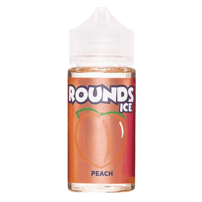 100mL Rounds - Peach ICE