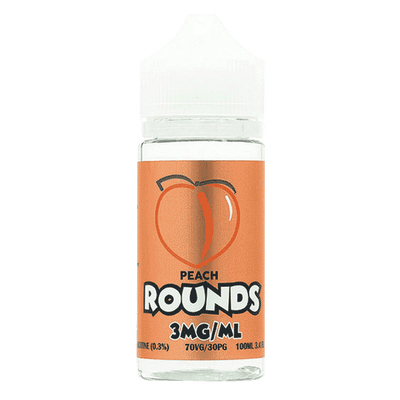100mL Rounds - Peach