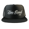 Time Bomb Label Trucker Hat - Black