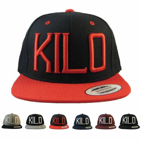 Kilo Label Snapback Hat various color ways