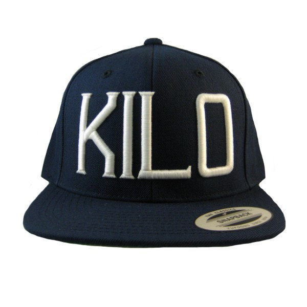 Kilo Label Snapback Hat blue