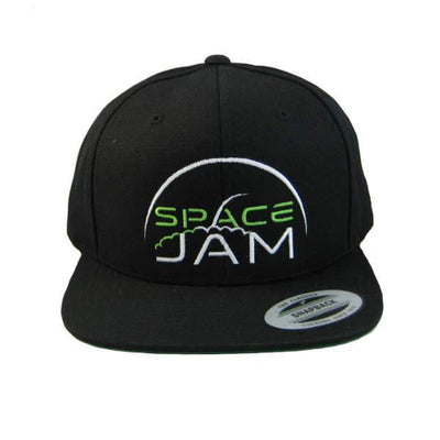 Hats - Space Jam Label Snapback - Black