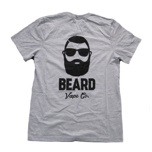 Mens T-shirts - Beard Vape Co - Label T-shirt - Gray